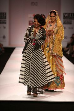 The designer herself - Anupama Dayal
