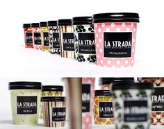examples of well-designed Ice Cream packaging for your inspiration. Contains many kinds of ice cream packaging examples starts from cup, wrap to pint. Ice Cream Packaging, Dessert Packaging, Food Packaging Design, Packaging Design Inspiration, Brand Packaging, Packaging Ideas, Gelato, Wine Ice Cream, Ice Cream Design