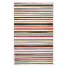 Capel Island Stripe Rug, Warm #pbteen