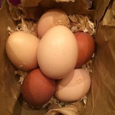 Best eggs in town ! The chicken momma delivered them to me this weekend. I'm smiling and thinking about breakfast. I love being a chicken auntie… it pays in eggs.