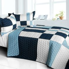Sky Delusions Quilt Set (Full/Queen Size)