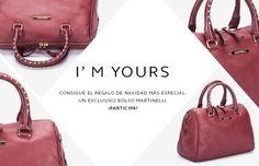 ¡Gana un exclusivo bolso de piel Martinelli!
