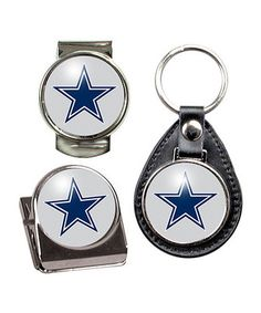 Look at this #zulilyfind! Dallas Cowboys Key Chain Set by Great American Products #zulilyfinds