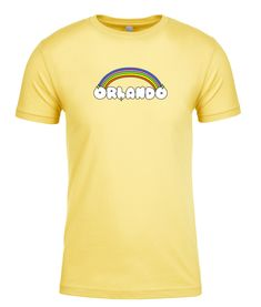 Orlando Rainbow Unisex Tee Coming Out Party, Orlando, Tees, Shirts, Crew Neck, Rainbow, Unisex, City, Mens Tops
