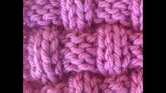 Knitting Videos, Knitting Stitches, Stitch 2, Knitted Dolls, Merino Wool Blanket, Basket Weaving, Knitting Patterns, Crochet, Youtube