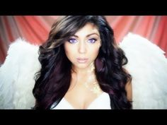 Angel Makeup Tutorial.... minus the gold/glitter... an amazing everyday look & I WILL own a pair of those contacts....