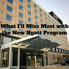 The Thing I'll Miss Most About the Old Hyatt Gold Passport Program