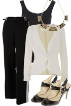 Classic Monochrome Outfit includes Contony, mesop, and Therapy - For everything but the girl