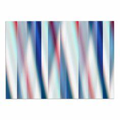 69 by 70 Kess InHouse Nick Nareshni Crashing Waves Near Hut Blue Tan Shower Curtain