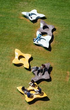 Minamora seating for Expo Milano 2015 by Miralles Tagliabue EMBT in collaboration with Italcementi Group.