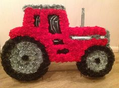 Val Spicer Tractor by Sian at Teasels