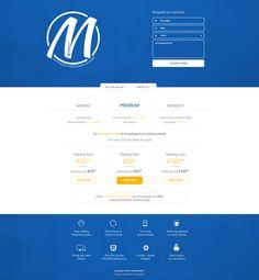 Presentation website design