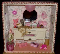 Piccola roombox, versione in rosa.