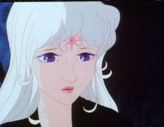 Lady Amalthea from the Last Unicorn has a star on her head. It ...