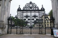 History | Restoration of 'Tijou' Gates at Petworth House.