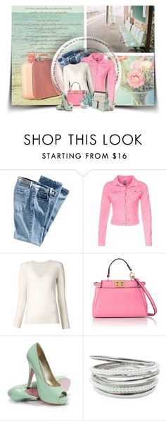 """""""Summer Bliss"""" by moomoofan1972 ❤ liked on Polyvore featuring Nicole, Superdry, Chloé, Fendi, Regina-Andrew Design and LARA"""