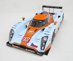 Aston Martin LMP1 2009 Le Mans 1:8 Scale Model by Amalgam.