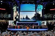 """FOUR RUSSIAN WARSHIPS ON SCREEN AT DNC CONVENTION? DEMOCRATICS APOLOGZIED >>CLAIMING A MISTAKE? NOPE>WATCH """"OBAMA`S 2016"""" OBAMA`S PARENTS  & GRANDPARENTS WERE REGISTERED COMMUNIST AND OBAMA WAS MENTORED FOR YRS> BY DAVIS >>ALSO A COMMUNIST!! WOW RUSSIA PROBABLY ENJOYED THIS>>BOOING GOD AND RUSSIAN WARSHIPS>>>IF RNC DID THIS IT WOULD BE ON THE NEWS 24 HRS!!!!!"""