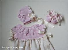feitoepunto: En venta Tricot Baby, Babysitting, Jeffrey Campbell, Baby Wearing, Boho Shorts, Amanda, Knit Crochet, Ruffle Blouse, Summer Dresses