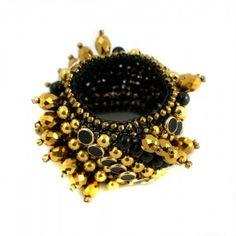"""Bracelet""""Golden Frills"""""""