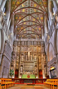 St Albans Cathedral - Hertfordshire England