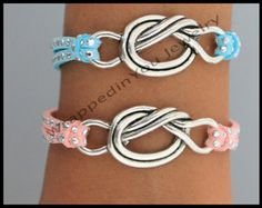 MORE Color RIBBONS Pink Ribbon AWARENESS Leather by WrappedinYou