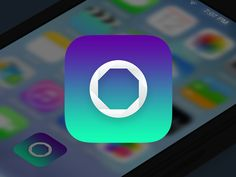 iOS App Icon by Chirag Dave, via Behance