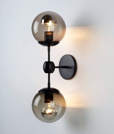 master nightstand wall lighting, would need to be hardwired Modo Sconce - 2 Globes