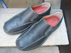 Clarks Black Casual Loafers Athletic Inspired Shoes 12 #Clarks #LoafersSlipOns