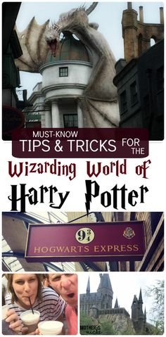 Universal Studios Orlando: A Harry Potter Experience All the must-know tips for visiting Harry Potter World at Universal Studios Universal Orlando, Disney Universal Studios, Universal Studios Florida, Universal Passes, Walt Disney World, Disney World Vacation, Disney Vacations, Disney Trips, Family Vacations