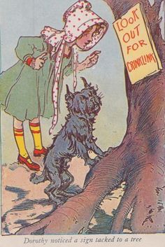 Little Dorothy and Toto of Oz By L. Frank Baum Illustrated by John R Neill Rand McNally 1939 Mickey Movie, Wizard Of Oz Book, Kids Book Series, John R, Yellow Brick Road, Save The Queen, Over The Rainbow, Children's Book Illustration, Caricature