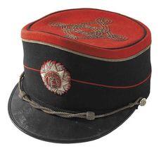 1930s Irish Free State Army dress uniform officer's Shako Cap