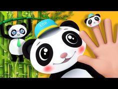 Finger Family   Panda Family!   Nursery Rhymes   by LittleBabyBum - YouTube
