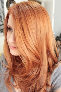 53 Strawberry Blonde Hair At Its Best - New Hair Styles 2018 Ginger Hair Color, Ginger Ombre, Strawberry Blonde Hair Color, Blonde Color, Strawberry Hair, Hair Color Highlights, Copper Hair With Highlights, Summer Highlights, Color Streaks