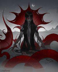 IrenHorrors - Professional, Digital Artist   DeviantArt Vampire Squid, Abigail Larson, Mermaid Artwork, Victorian Gothic, Dark Horse, Macabre, Cartoon Art, The Little Mermaid, Fantasy Art