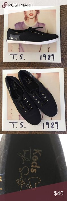 "Host PickTaylor Swift Keds Keds ""Taylor Swift Sneaky Cat""  I bought these for my daughter last Christmas and she wore only twice. EUC!! keds Shoes Sneakers"