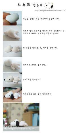 DIY Polymer Clay Snoopy Tutorial
