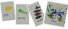 butterfly metamorphosis using hand prints. pretty cool.
