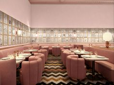 Here's a sneak preview of David Shrigley's mammoth mural for Sketch restaurant in London. The work replaces an equally comprehensive art installation by fellow Brit Martin Creed. Shrigley is hoping that his four walls of satirical drawings and witty writings receive kudos from diners. Guests can expect to see tableware featuring his humorous imagery and a menu devised by Pierre Gagnaire, a chef with three Michelin stars whose dishes promise to draw inspiration from Shrigley's art.