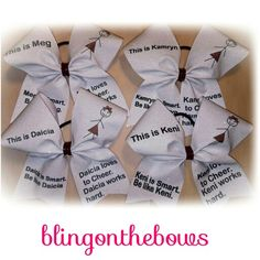 This is____ stick girl all glitter cheer bow. #cheerleading #fiercecheerbows #cheergear #allglitterbows #blingonthebows