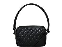 Chanel - Small Cambon Pochette Bag - Black