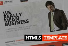 Estimation : Responsive Business HTML Template