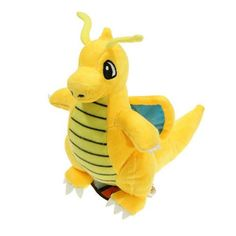"""Plush Toy Pikachu Dragonite 9"""" Cute Collectible 23cm Soft Charizard Stuffed Animal Doll Peluche For Children's"""