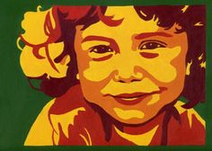 Custom Pop Art Portrait on a Stretched Canvas by amocro on Etsy, $100.00