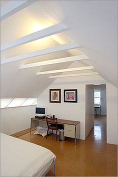 Collar tie solution for attic (collar ties are the horizontal 2x4 sized rafter looking things)