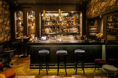 Fitzgerald  - Cocktails bar layout designed by Agence En Place. Station cocktail - Mise en place