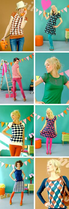 Stylish Mamas - Bonnie & Buttermilk - Super Colourful Clothes for Women | KID independent – handmade for kids