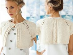 #2 Eyelet Raglan Cardi, Vogue Knitting Early Fall 2013 - YouTube