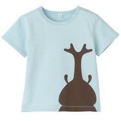 Muji kids shirt プリントTシャツ
