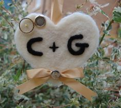 Personalised Hanging Heart with Initials -Wedding Gift -Valentine's Day Gift -Decoration Bride's Lucky Charm, Wedding Token -Wedding Present